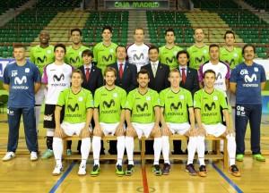 Foto Oficial de Inter Movistar temporada 12-13