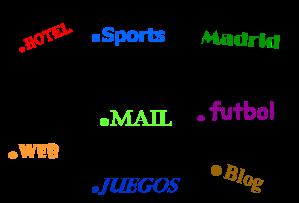 nuevos dominios genéricos